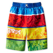 Angry Birds Swim Trunks - Boys 6-10