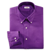 IZOD® Button-Down Twill Dress Shirt
