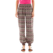 Heart & Soul® Smocked Harem Pants