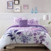 Lavender Shadow Comforter Set