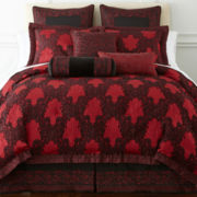 Royal Velvet® Regalia 4-pc. Jacquard Comforter Set