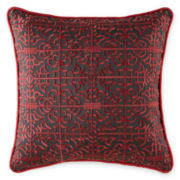 CLOSEOUT! Royal Velvet® Regalia Square Decorative Pillow
