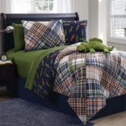 Zoomates Alligator Reversible Comforter Set