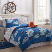 Zoomates Jack the Octopus Reversible Comforter Set