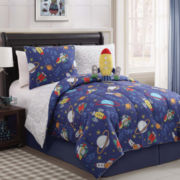 Zoomates Out of this World Reversible Comforter Set