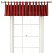 JCPenney Home™ Holden Tab-Top Cotton Valance