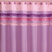 Ruffle Power Shower Curtain