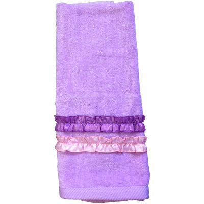Ruffle Power Hand Towel