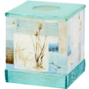 Avanti Blue Waters Tissue Holder