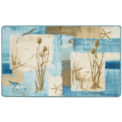 Avanti Blue Waters Bath Rug