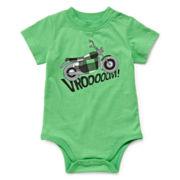 Okie Dokie® Short-Sleeve Graphic Bodysuit - Boys newborn-24m