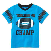Okie Dokie® Short-Sleeve Sports Tee – Boys 12m-24m