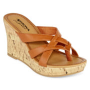 Arizona Carah Strappy Wedge Sandals