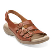 Clarks® Saylie Medway Womens Slingback Sandals
