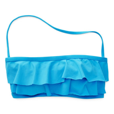 jcpenney.com | Stylus™ Ruffled Bandeau Swim Top