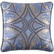 "Croscill Classics® Marcel 18"" Square Decorative Pillow"