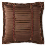 Royal Velvet® Del Rey Pleated Square Decorative Pillow