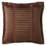 Royal Velvet® Del Rey Pleated Square Decorative Pillow