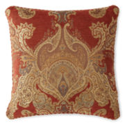 Royal Velvet® Del Rey Square Decorative Pillow