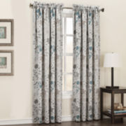 Sun Zero™ Clyde Rod-Pocket Room-Darkening Curtain Panel