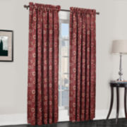 Sun Zero™ Melanie Room-Darkening Rod-Pocket Curtain Panel