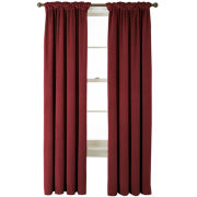 Bliss Velvet Back-Tab Curtain Panel