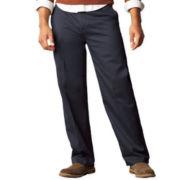 Dockers® D3 Signature Classic-Fit Flat–Front Pants–Big & Tall