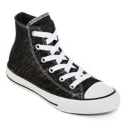 Converse® Chuck Taylor All Star Shine High Girls Fashion Sneakers - Little Kids