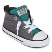 Converse® Chuck Taylor All Star Street Mid Boys Fashion Sneakers  - Toddler