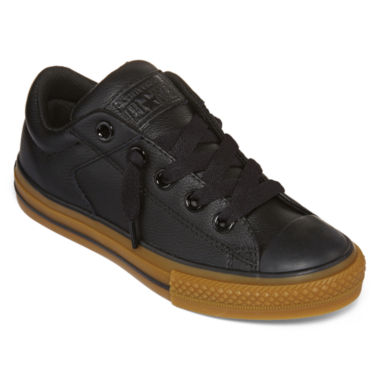 jcpenney.com | Converse® Chuck Taylor All Star High Street Slip Leather Boys Fashion Sneakers - Little Kids/Big Kids