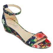 Diba® London Jessica Sliver Wedge Sandals