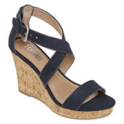Style Charles Lively Wedge Sandals