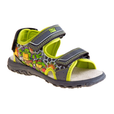 jcpenney.com | Nickelodeon™ Ninja Turtle Boys Strap Sandals - Toddler