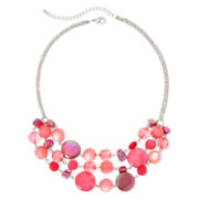 Mixit™ Pink 3-Row Necklace