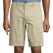Claiborne® Stretch Cotton Shorts