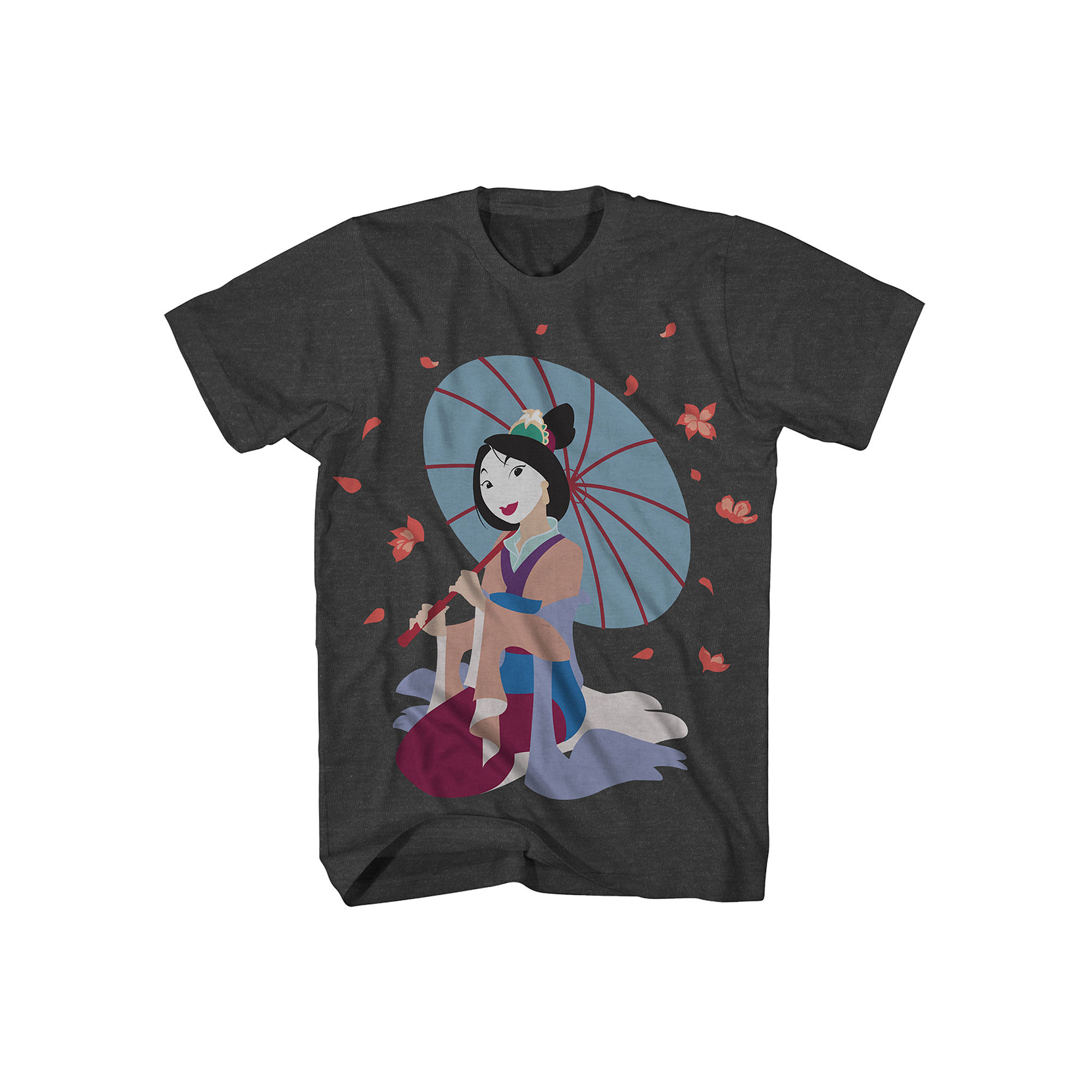 Novelty T Shirts Disney Mulan Short Sleeve T Shirt | Top and Clothing