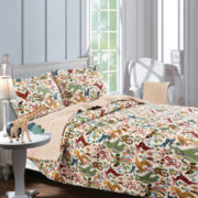 Greenland Home Fashions Safari Park Reversible Quilt Set