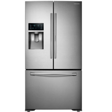 jcpenney.com | Samsung ENERGY STAR® 23 cu. ft. 3-Door French Door Refrigerator with Food Showcase Design Counter Depth