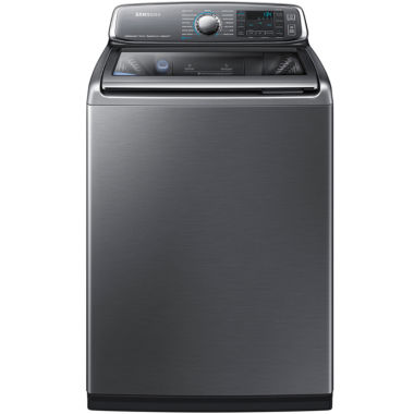 jcpenney.com | Samsung ENERGY STAR®  5.2 cu. ft. Top-Load Steam Washer with activewash™ and Super Speed