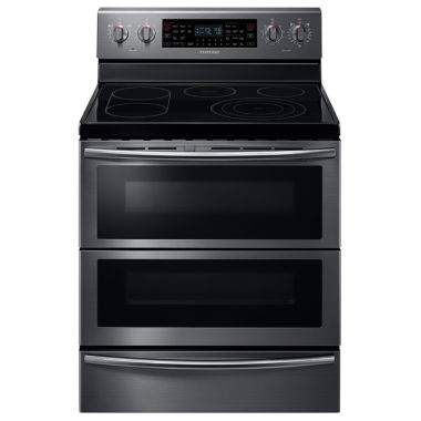 jcpenney.com | Samsung 5.9 Cu. Ft. Free-Standing Electric Flex Duo® range with Soft Close and Dual Door™