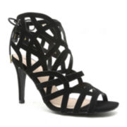 Qupid Kelvin Strappy Dress Sandals