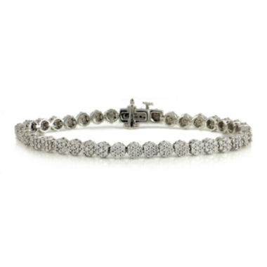 jcpenney.com | LIMITED QUANTITIES 2 CT. T.W. Diamond 14K White Gold Tennis Bracelet