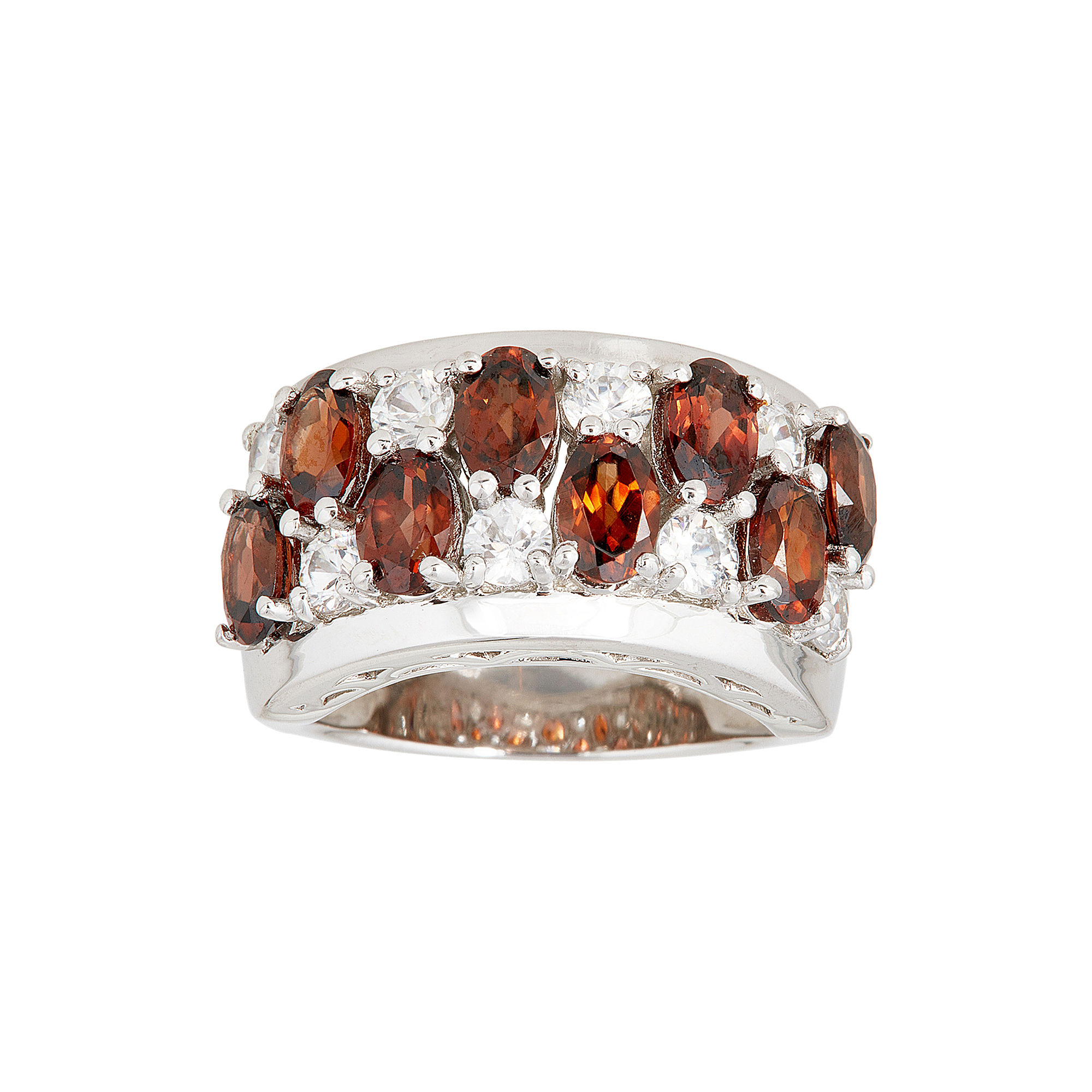 LIMITED QUANTITIES Genuine Brown Zircon and Opal Ring