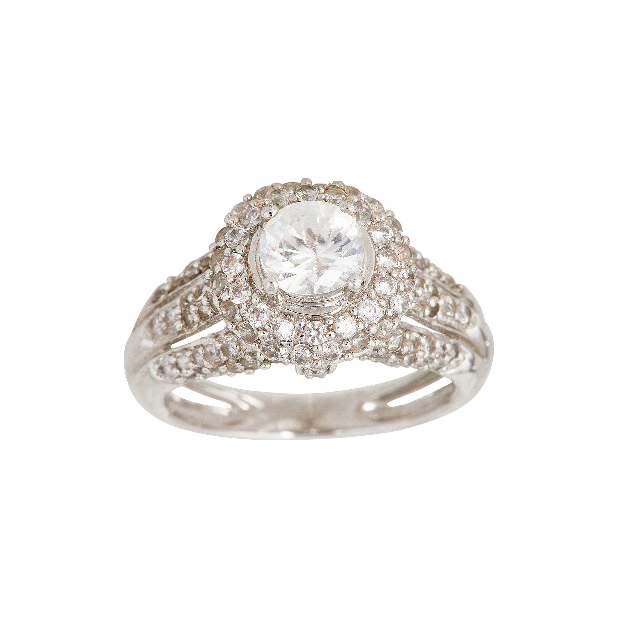 LIMITED QUANTITIES Genuine White Zircon Ring