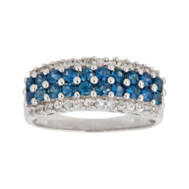 jcpenney.com | LIMITED QUANTITIES  Genuine Blue and White Sapphire Ring
