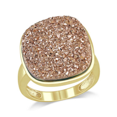 jcpenney.com | Cushion-Cut Lab-Created Rose Druzy Ring