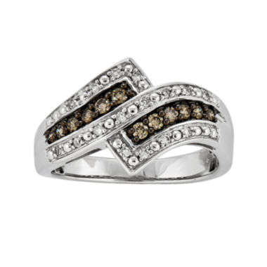 jcpenney.com | 1/3 CT. T.W. White and Champagne Diamond Ring