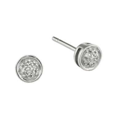 jcpenney.com | Diamond-Accent Sterling Silver Stud Earrings