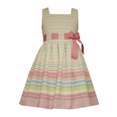 jcpenney.com | Bonnie Jean® Sleeveless Striped Dress - Preschool Girls 4-6x