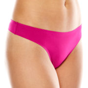 Ambrielle® Everyday Bonded Thong Panties
